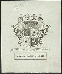 Bookplate of Wilson Dobie Wilson